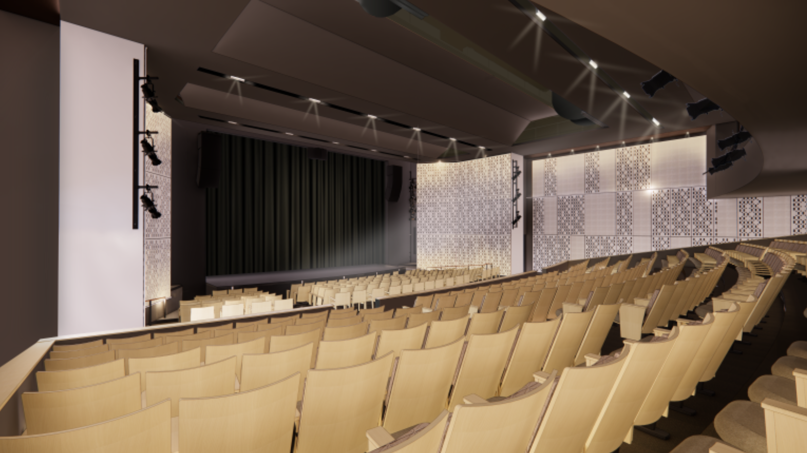 Department of Theatre, Film, and Media Arts Theatre Space