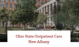Rendering of Outpatient Care New Albany
