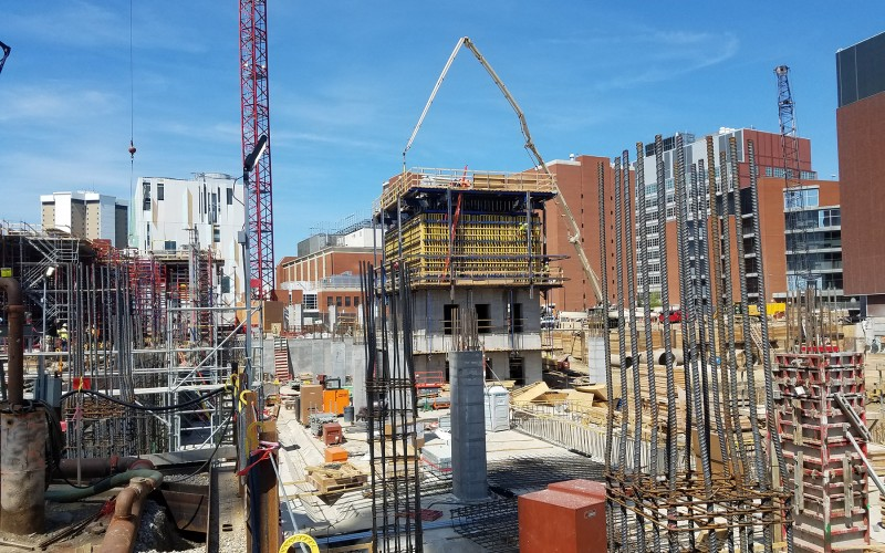 Photo of Inpatient Hospital north core elevator formwork