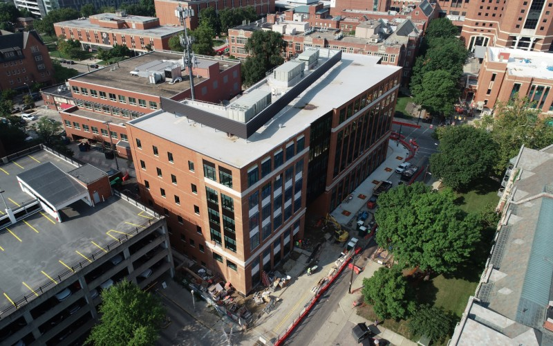 The Optometry Clinic and Health Sciences Faculty Building will have 58 new exam rooms.
