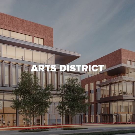 Rendering of Arts District