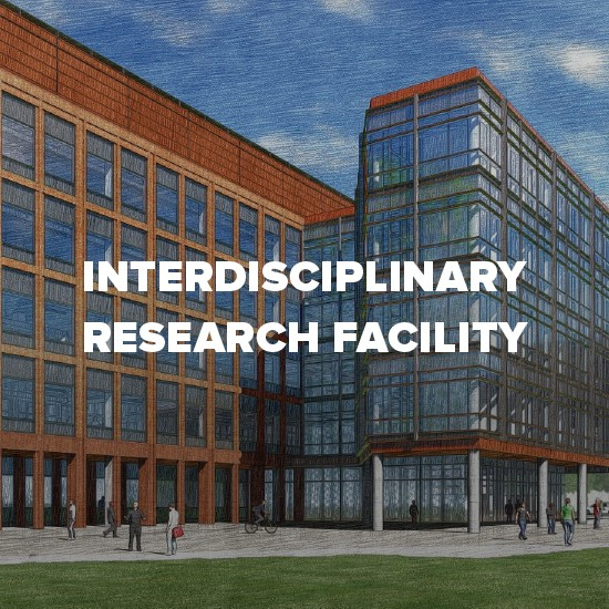 Rendering of Interdisciplinary Research Facility