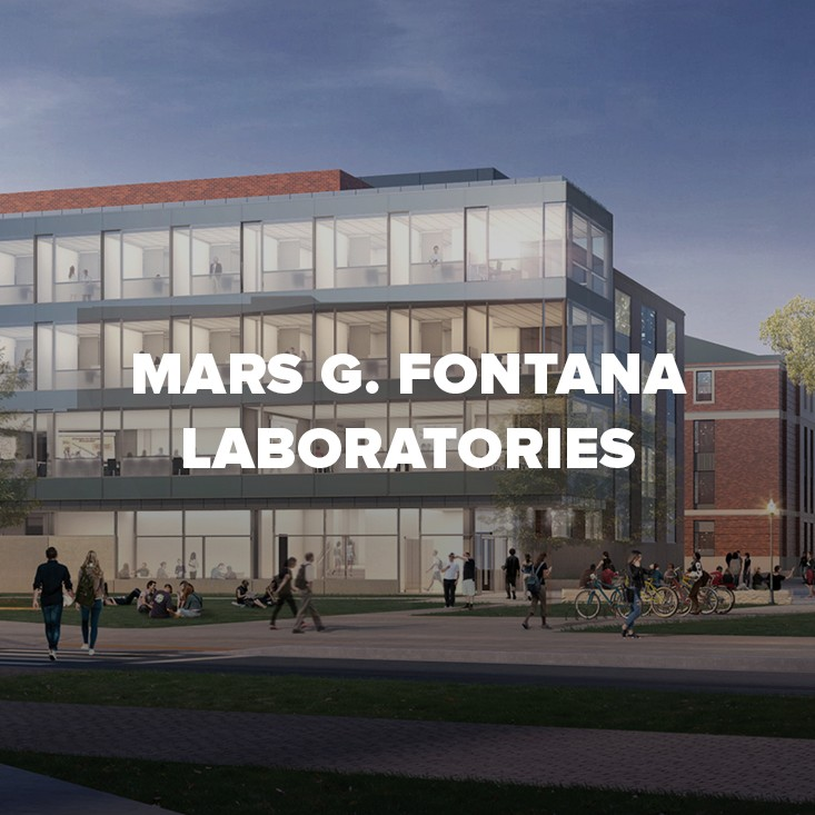 Rendering of Mars G. Fontana Laboratories