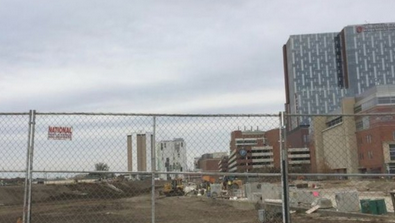 The Ohio State University Wexner Medical Center construction