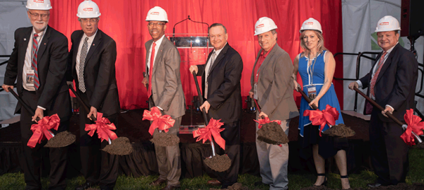 Postle Hall Ground Breaking